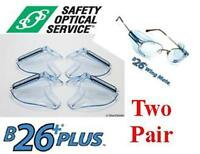 B-26+ Side Shields Ansi For Small/medium Rx Frames - (2 Total Pair)