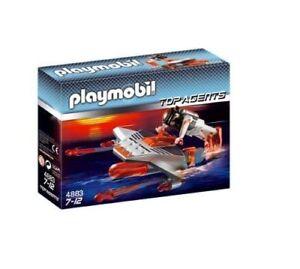 Playmobil-Top-Agents-4883-Torpedo-Diver-Totalmente-nuevo-Sellado-Caja-de-dano-leve