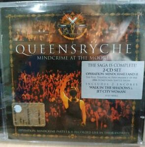 Queensryche-Mindcrime-at-the-Moore-2-CD-Sigillato-Live-2006-Seattle-Rhino-2007
