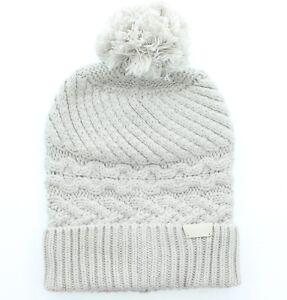 5fdac549e46 Coach 84069 Women s Cashmere Legacy Aran Cable Knit Hat Beanie Cap ...