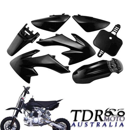 Black Plastics Fairing Kit CRF50 Styles for Pit Bike THUMPSTAR ATOMIK 110//125CC