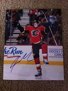 Sean-Monahan-Autographed-8x10-Photo-Calgary-Flames-Ottawa-67-039-s-Canada