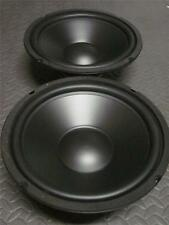 """(2) 10"""" Speaker Woofers.Ten Inch Subwoofer Replacement. Pair.8 Ohm.Bass Drivers"""