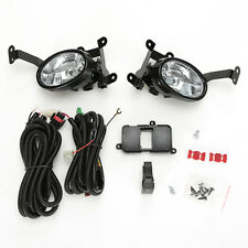 Clear Fog Lights Set for 06-08 HONDA Civic 2DR Coupe w/Switch Wire Left Right