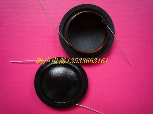 2 piece 25.9mm 26mm silk diaphragm dome Tweeters voice coil 8ohm  #Z204 ZY