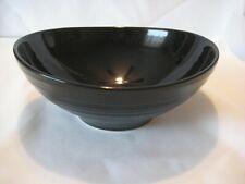 Mikasa STONE RIDGE BLACK Soup Cereal Bowl 8835567