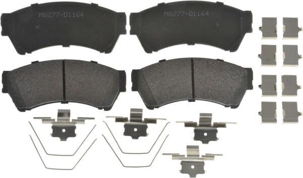 Disc Brake Pad Set-PSM Semi-Met Disc Brake Pad Front Autopart Intl 1402-508492