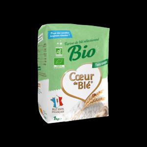 0369 - Farine de Blé Bio Coeur de Blé 1Kg