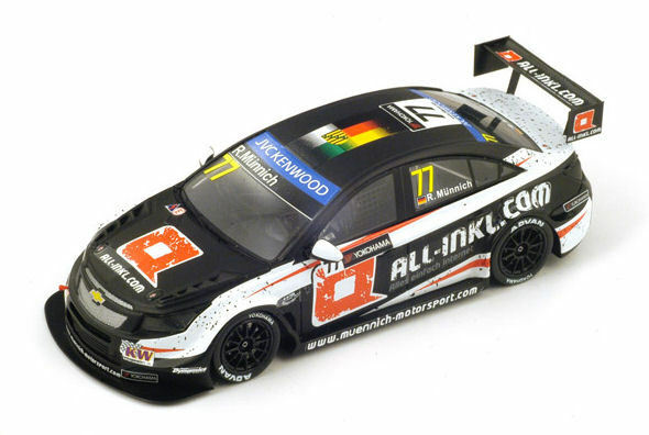 Chevrolet Cruze   77 Hungarobague Wtcc 2014 R. Munnich 1 43 Model SPARK MODEL  profitez de 50% de réduction