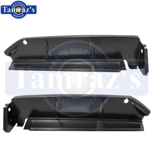 Pair LH /& RH New 63 Chevy B Body Quarter Panel Trunk Drop Off Filler Extension