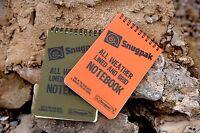 Snugpak All Weather Grid Notebook Waterproof Paper Pad Kayak