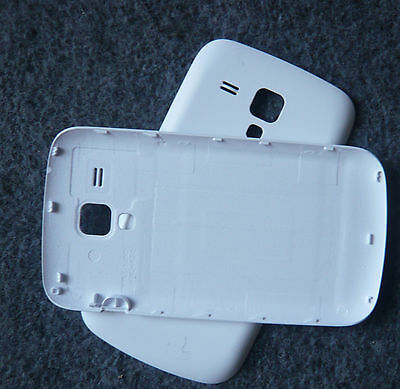 White Battery Back Rear Cover Housing Case For  Samsung Galaxy S Duos / S7562