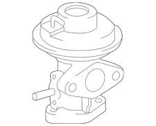 toyota oem 2562074330 camry rav4 egr valve 25620 74330 ebay Vacuum Solenoid Valve genuine toyota egr valve 25620 74330