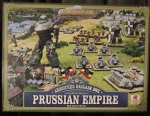 Spartan Games Armored Clash Brigade Box Empire prussien