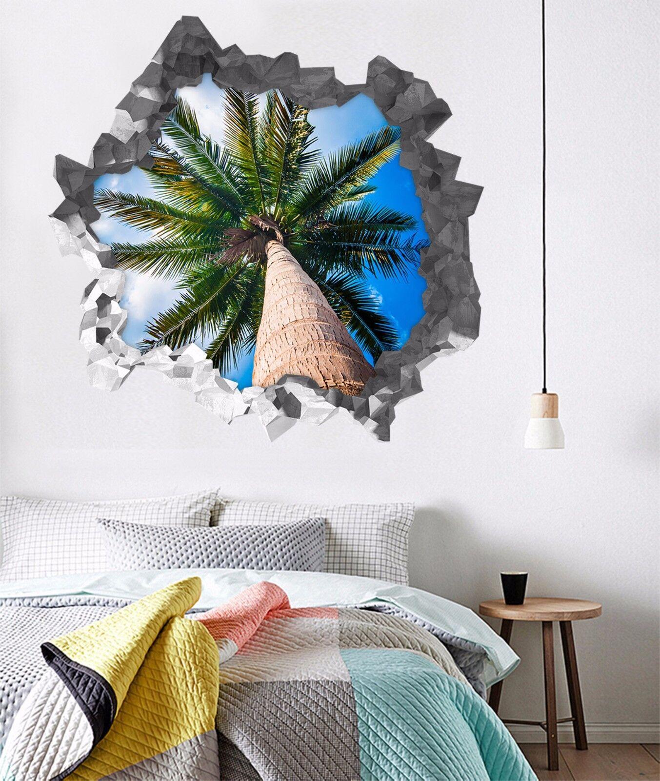 3D Grüner Baum 843 Mauer Murals Mauer Aufklebe Decal Durchbruch AJ WALLPAPER DE