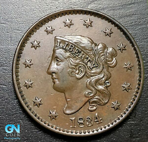 1834-Coronet-Head-Large-Cent-MAKE-US-AN-OFFER-B6304