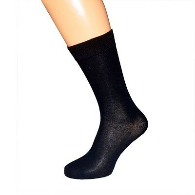 Plain Navy Blue Socks in Mens and Kids Sizes X6S224