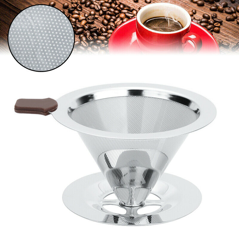 1//2 Reusable Stainless Steel Filter Pro/& Home For Aerobie Aeropress Coffee Maker