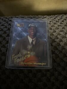 STEPHON-MARBURY-1996-97-FLEER-METAL-FRESH-FOUNDATION-RC-CARD-134-TIMBERWOLVES