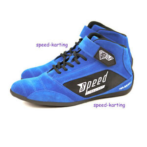 Kartschuhe-Blau-034-Milan-034-Speed-Racewear-Bewaerte-Qualitaet-in-neuem-Design