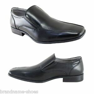 MENS-JULIUS-MARLOW-JM33-JM-LACHLAN-BLACK-FORMAL-CASUAL-SLIP-ON-WORK-DRESS-SHOES