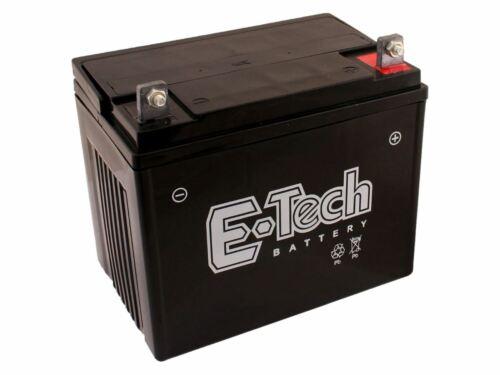 passend Husqvarna GTH264T 96041025000 Batterie 12V 22Ah + Pol Rechts