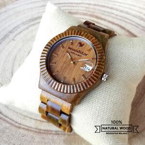 Orologio-da-polso-in-legno-Uomo-Donna-Wood-Wrist-Watch-Men-Women-Gift-Regalo