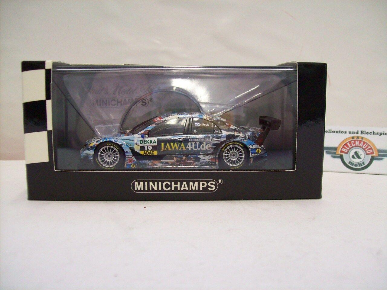 cómodamente Mercedes-benz Mercedes-benz Mercedes-benz c-class  19  p. di resta  DTM 2007, Minichamps 1 43, embalaje original  la calidad primero los consumidores primero