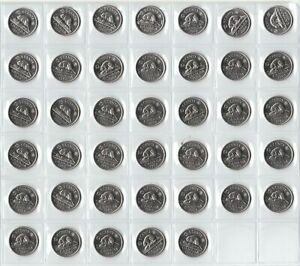 Canada-1968-Five-Cent-UNC-BU-MS-Nickel-Roll-of-40-Coins