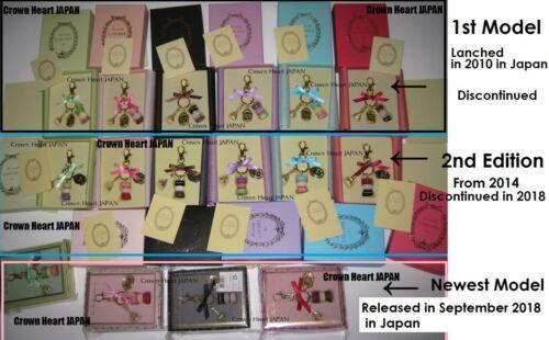 New LADUREE Keychain Ring Macaron Eiffel Tower Lilac Purple in Gift Box MARK/'S
