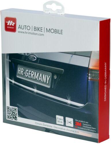 RICHTER Auto KFZ 3M Chrom Zierleiste 245 cm HR-IMOTION 120 107 01