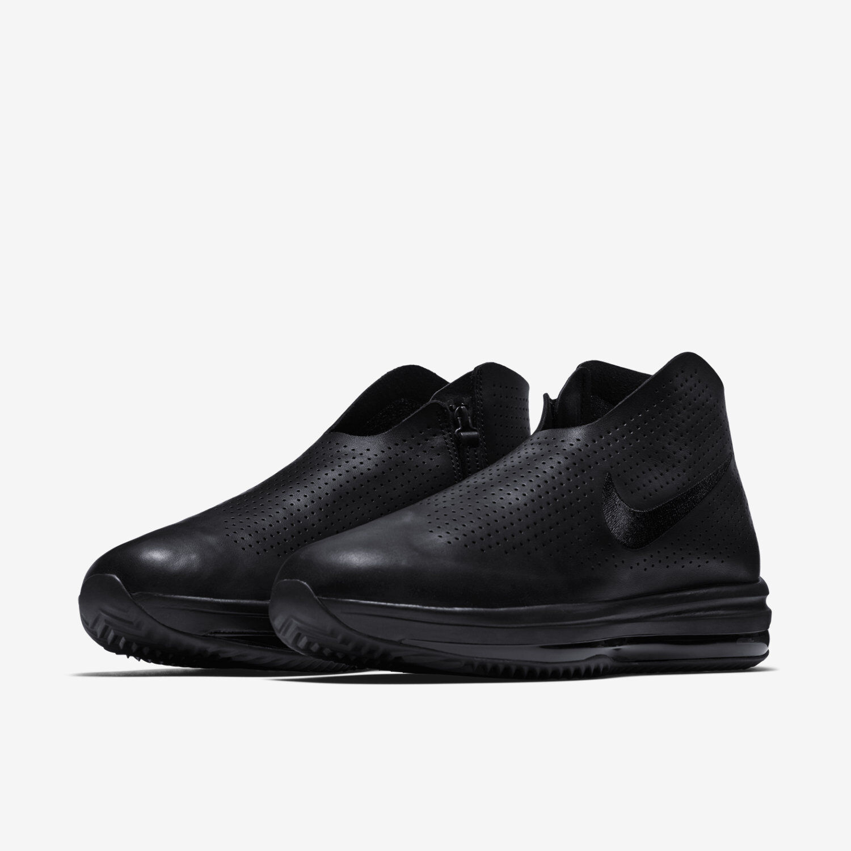 Nike Women's Zoom Modairna Air shoes Sizes 7-9 Triple Black Black Black Leather 880884-001 c8ea56