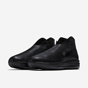 6b14834ed43d Nike Women s Zoom Modairna Air Shoes Sizes 7-9 Triple Black Leather ...