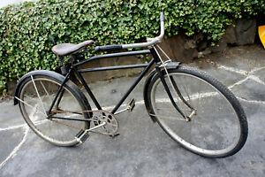 Unmolested Prewar Excelsior Vintage Bicycle Klunker Bike Mesinger Saddle Bike
