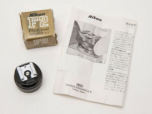 Nikon F2 Flash Unit Coupler AS-1 with Box & Instruction Sheet - Made in Japan