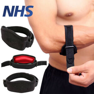 Tennis-Elbow-Support-Brace-Golfers-Strap-Epicondylitis-Band-Clasp-Protector-Gym
