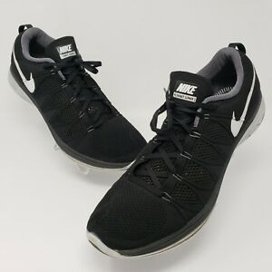 Nike-Flyknit-Lunar-2-Mens-Black-Running-Shoes-Size-13