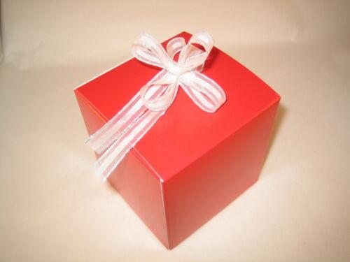 Wedding Fête Favour 100 Large Single Cupcake Boxes//Inserts Plain Personalised