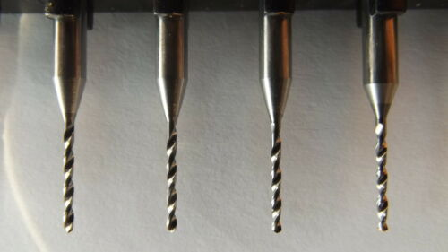 + Dremel 1,8 mm CNC 10 Stück  VHM Hartmetall Bohrer Proxxon