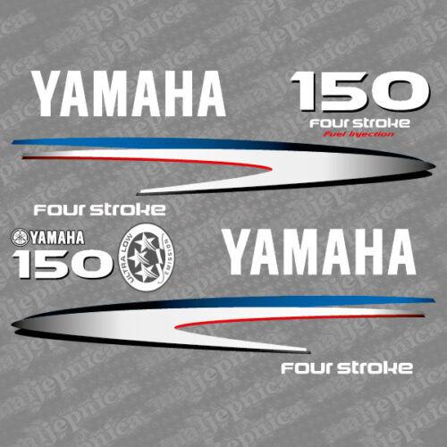 2002-2006 Yamaha 150 four stroke outboard decal aufkleber addesivo sticker set