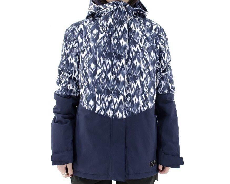 BILLABONG Mujer Chaqueta De Nieve Akira Impreso-PCO-Small-Nuevo con etiquetas   marcas en línea venta barata