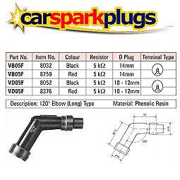 8032 1x RESISTORE NGK SPARK PLUG CAP VB05F NERO