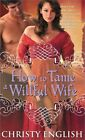How to Tame a Willful Wife by Christy English 1402270453 Sourcebooks Casablanca