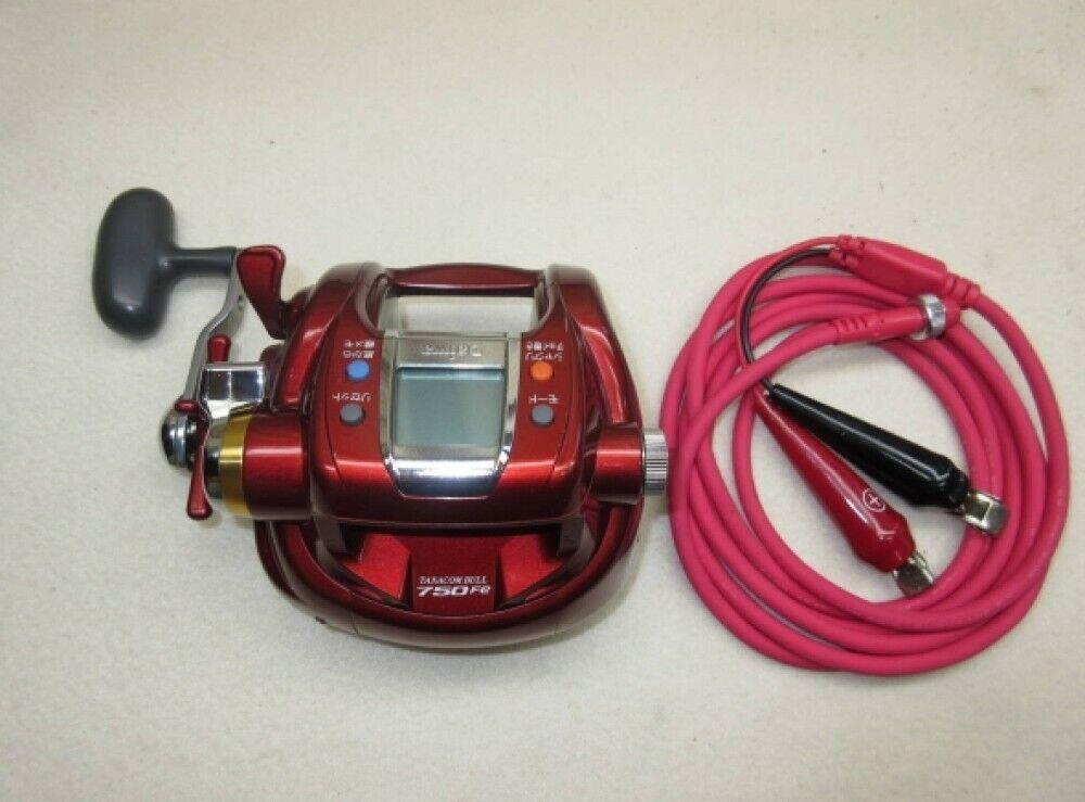 Daiwa TANACOM BULL 750 Fe Electric Fishing SaltWater Reel Big Game Tested Used