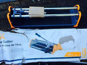 New 14 Quot Hdx Tile Cutter 689851576003 Ebay