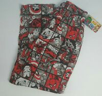 Marvel Comics Men's Lounge Pants Sleep Pajamas Spiderman Hulk Captain America M
