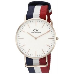 742da6c1b0091 Daniel Wellington Mens Classic Cambridge Watch 40mm for sale online ...