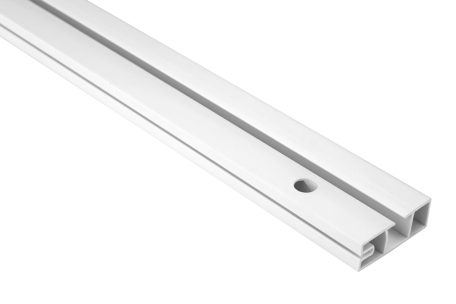 30 Metri 1-läufige PVC Binario per Tenda Tenda a Pannello Tavole per Tende, OM-1