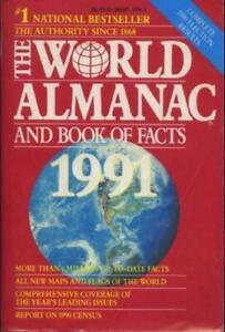 Almanaque-Mundial-y-el-libro-de-los-hechos-1991-mundo-Almanaque-amp-Libro-de-los-hechos-libro-de