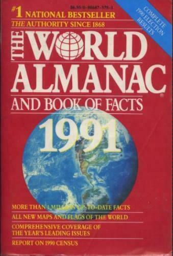Almanaque Mundial y el libro de los hechos 1991 [mundo Almanaque & Libro de los hechos [libro de bolsillo]]